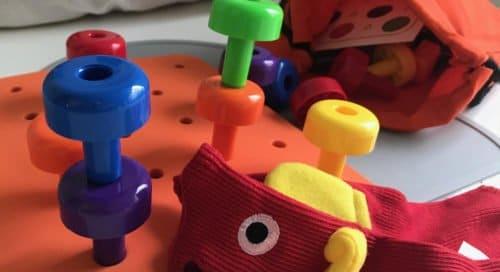 Rakennuspalikoita lapsille